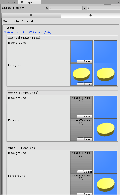AdaptiveIconの画像設定